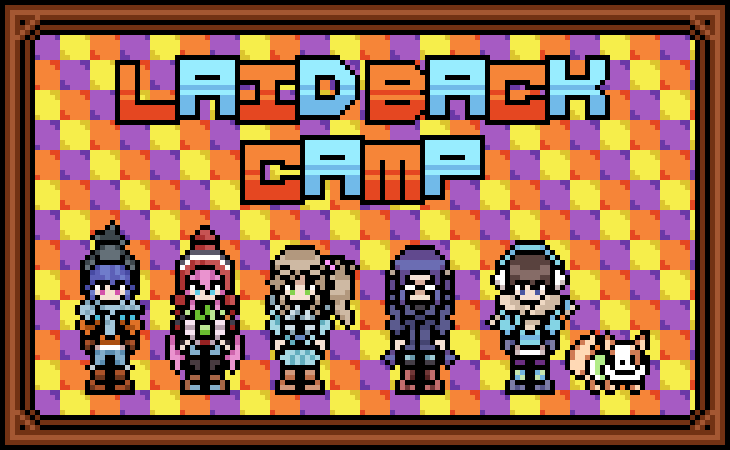 Laid back camp girls are next! I like how these ones turned out. Very cosy anime.  #pixelart #anime #LaidBackCamppic.twitter.com/UEgLKgX39Z