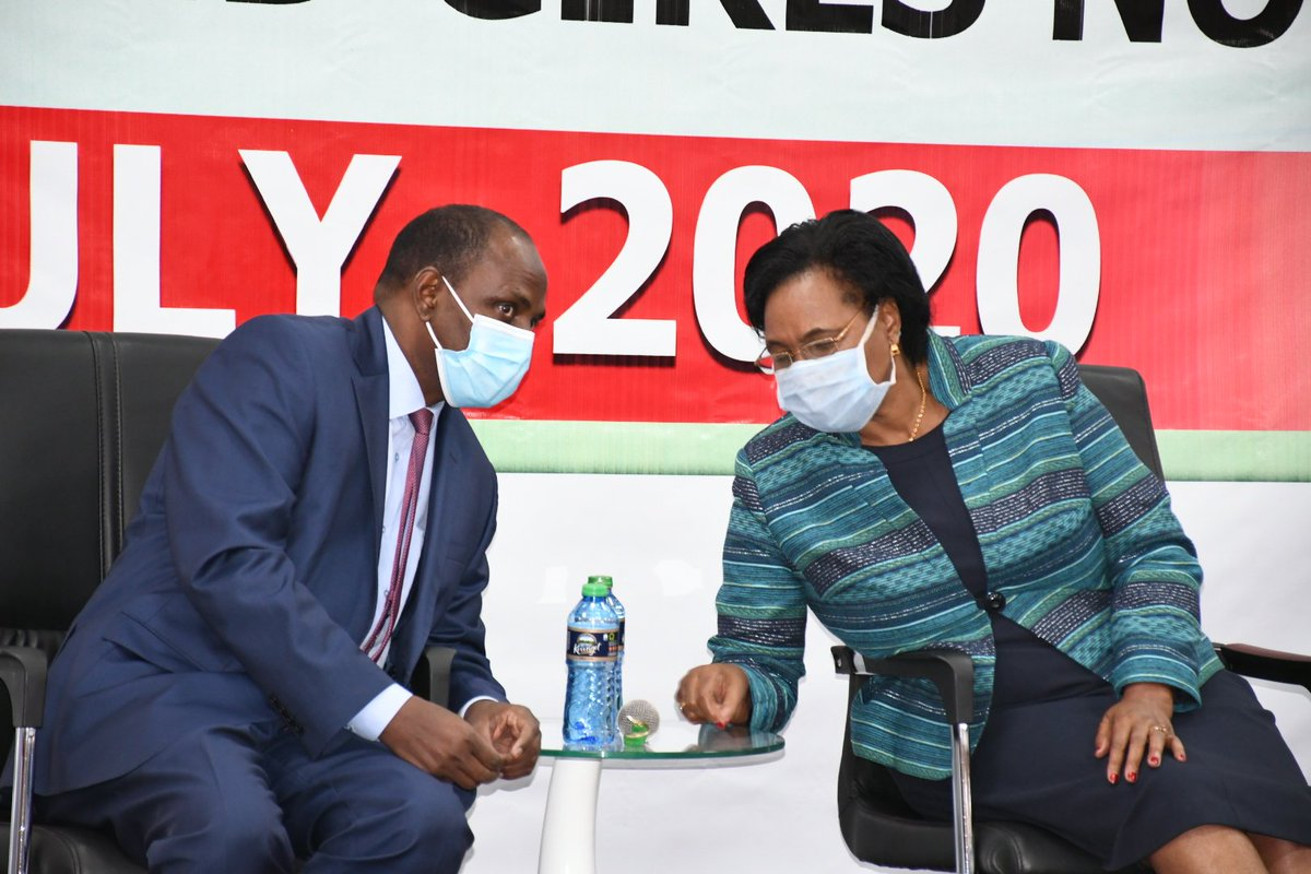 I am pleased to join my colleague @BaloziYatani CS National Treasury & Planning for the World Population Day 2020 celebrations being held @KRACare headquarters. This year's theme is Putting the brakes on Covid-19 : How to safe guard the health and rights of women and girls now. https://t.co/UUOR1xI0HH