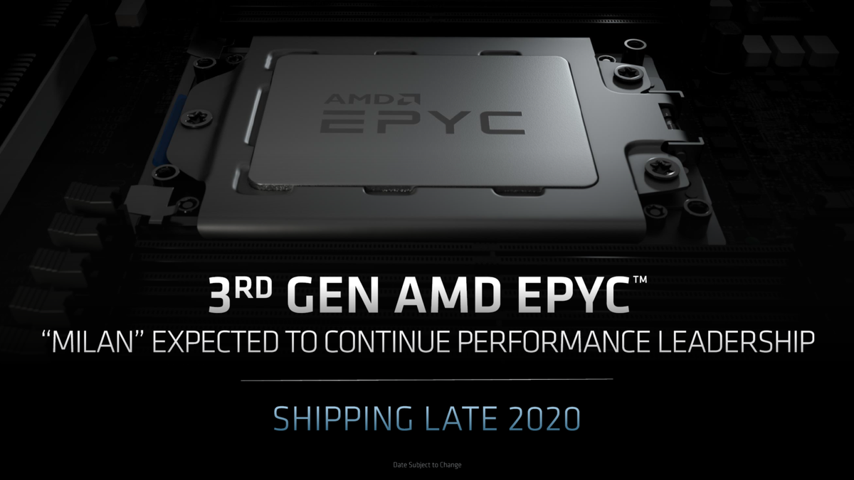 AMD's Next-Gen Zen 3 Powered EPYC Milan 'Genesis' CPUs Spotted – 7nm+ Chips With Up To 64 Cores & 3.0 GHz on A0 Samples dlvr.it/RbPCNc