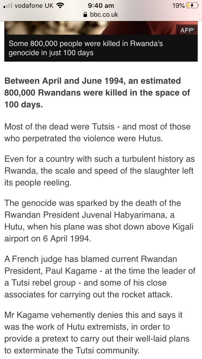 So not only was it not Christians it was 25 years ago educate yourself I'm not showing you the media prove me Christians are not getting genocided prove it<br>http://pic.twitter.com/jKegzmPQyG