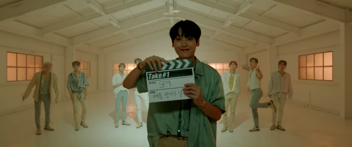 🎬 Watch SF9 dancing to their new song Summer Breeze on 1theKs Take#1 here 👉 youtu.be/AyS5wxTABBE 🌟 @SF9_FANCLUB