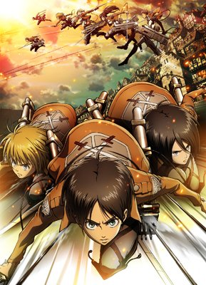 【「進撃の巨人」歴代キービジュアル②】7月17日(金)『「進撃の巨人」~クロニクル~』の劇場公開を記念して、歴代キービジュアルを振り返ります!2013年に放送された「進撃の巨人」Season1第2弾キービジュアルです!#shingeki