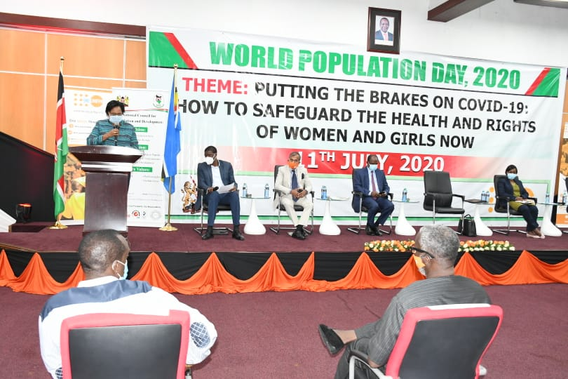 And the launch of 'State of the World Population Report 2020' whose theme is; 'Against my will: Defying the practices that harm women and girls and undermine equality'.  #WorldPopulationDay2020 https://t.co/e99bq5wrKb