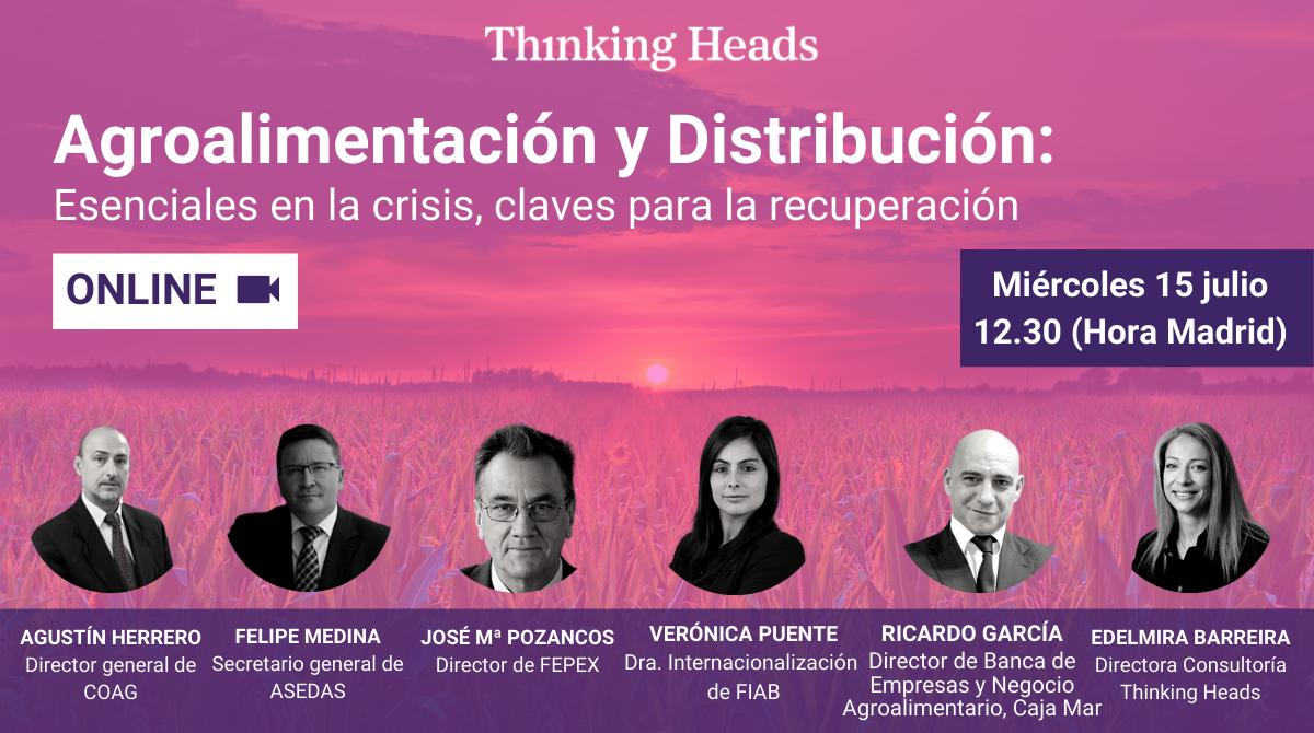 ¿Cuáles son los principales retos y demandas del sector agroindustrial en el escenario post COVID-19? 📣 Únete a nuestro evento virtual el miércoles 15 de julio a las 12.30 (Madrid).  ✅ Inscríbete en 👉 https://t.co/zy38x2P3l2 #TH1Agro https://t.co/fw4masClHB