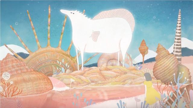 高井息吹が新井和輝&君島大空と共同制作した「瞼」、MVは絵本のようなアニメーション(動画あり / コメントあり) #高井息吹