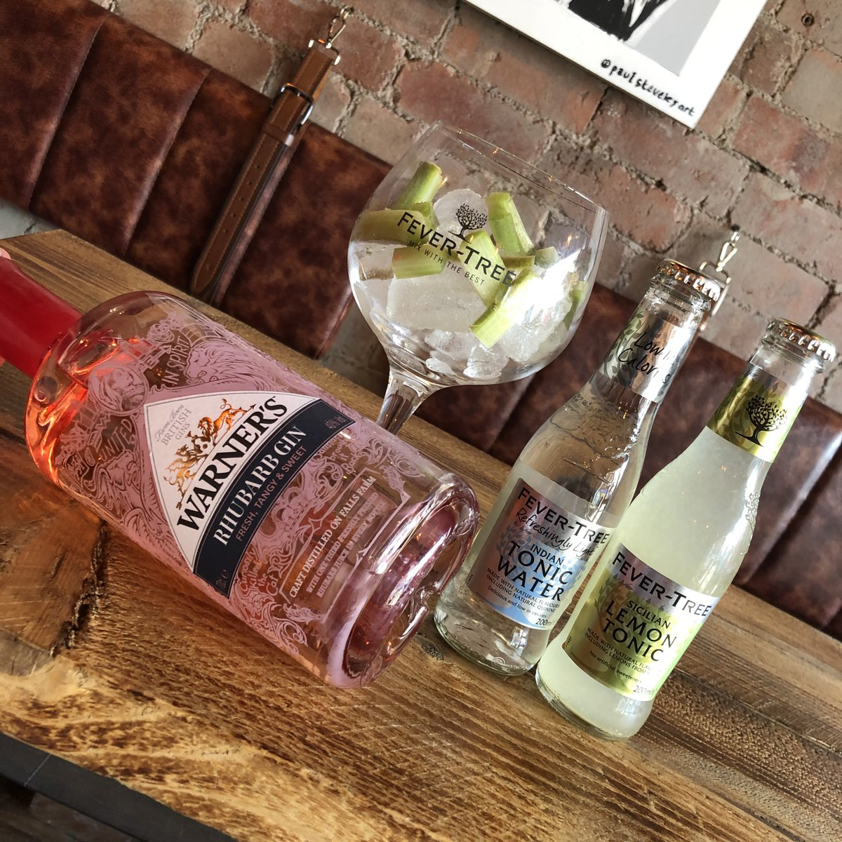 This is our hottest gin this week!   Warner's Distillery   #rhubarb try it will ginger ale!   Double up and receive a free mixer   #gin #ginandtonic #ginbar #ginlovers #ginoclock #ginstagram #gintonic #sheffieldissuper #hillsboroughpic.twitter.com/cy8OXwmI3e