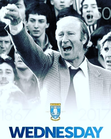 The word legend is branded about too easy in football. In Jack's case it's a perfect fit. Rip #legend #bigjack #WAWAW #owls #sheffwed #sheffield #wednesday #awaydays #swfc https://t.co/bQXYOhngmi