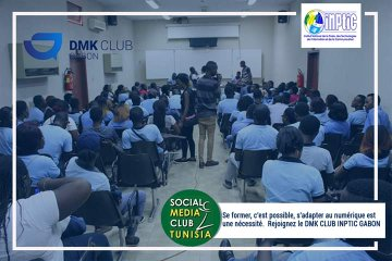 Le réseau DMK Club Gabon a pour mission de réduire l'écart entre les institutions d'éducation et le milieu professionnel. Bravo au #DmkClubInptic  👍  #Libreville https://t.co/WJhLzo9Dd5