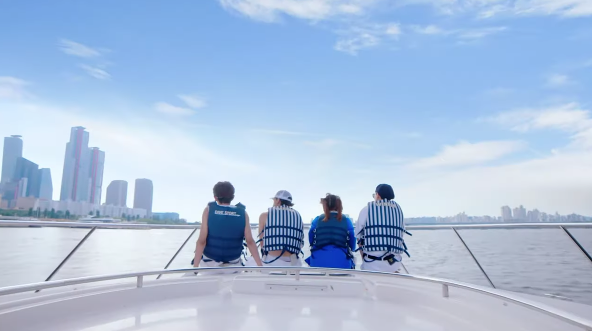 SSAK3 (Biryong, Linda G, and Yoo-Dragon) unveils MV for In Summer (feat. Hwang Kwanghee), a song originally sung by Deux ☀️ 🎬 youtu.be/kdhqdRx3m2w
