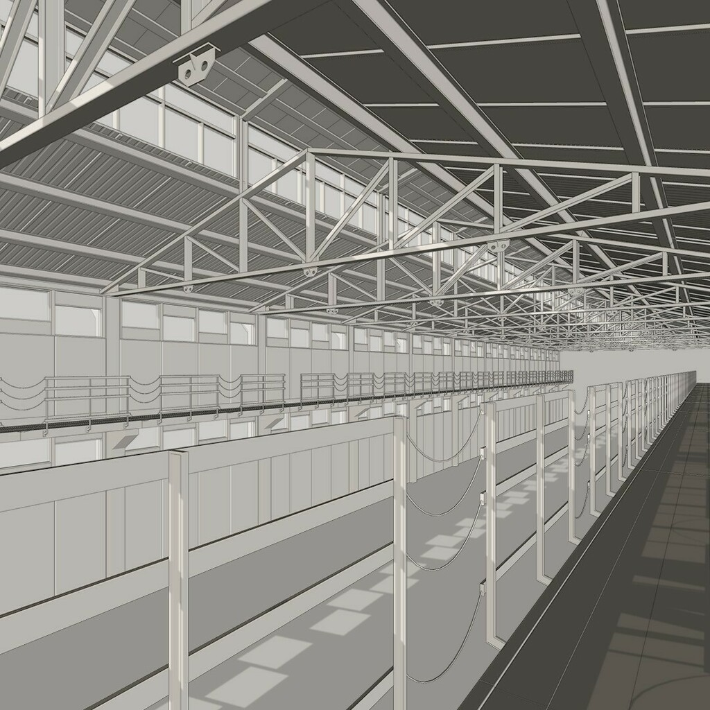 Streaming #15 - Nave industrial . #sketchup #sketchup_gobal #3d #3dartist #3dmodeling #building #architecture #archviz #cgi #conceptart #architecturalvisualisation #industrialdesign #structure #structuraldesign