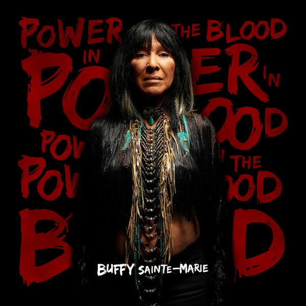 """Saturday Noon Album """"POWER IN THE BLOOD - Buffy Sainte-Marie""""  https://t.co/e65nxChHka  #INDIGENOUS #TAIRP https://t.co/nezjNnWa7n"""