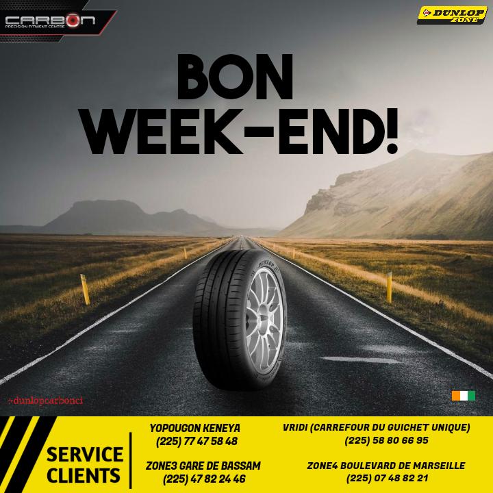 Roulez en toute sécurité avec les pneus Dunlop-Carbon CI  Profitez de votre weekend avec votre famille. --------------- SAVE ME - SAVE US - SAVE YOURSELF . .  #saturdaymood #goodtime #goodday #weekendtime #weekendvibes #cotedivoire #civ225 #dunlopcarboncipic.twitter.com/MSNUQbjfk8