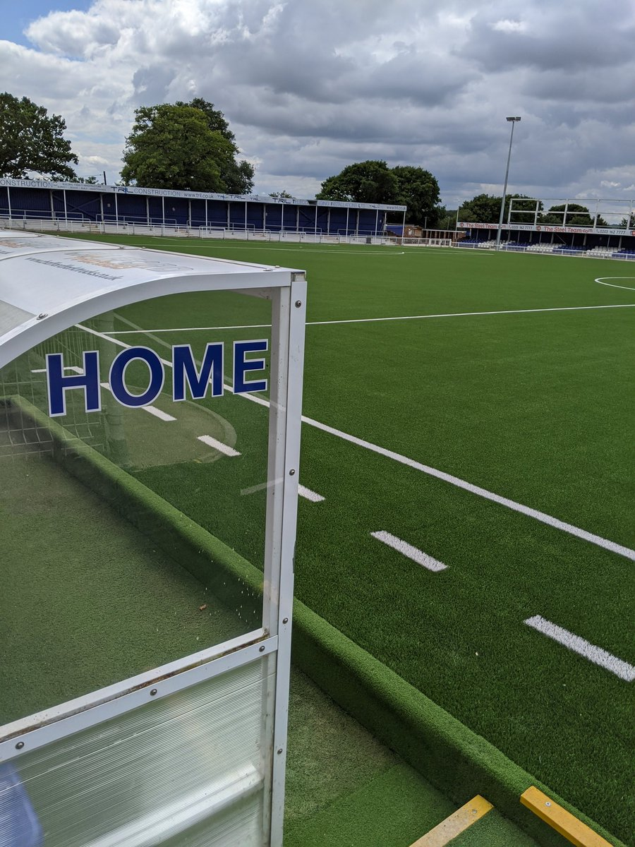 The ground is ready to go for our first pre booked time slot for 20/21 season ticket holders ⚽💙  Email info@billericaytownfc.co.uk to book your slot tomorrow (12-4 or 5-9) https://t.co/kvY0z2Z5Pz