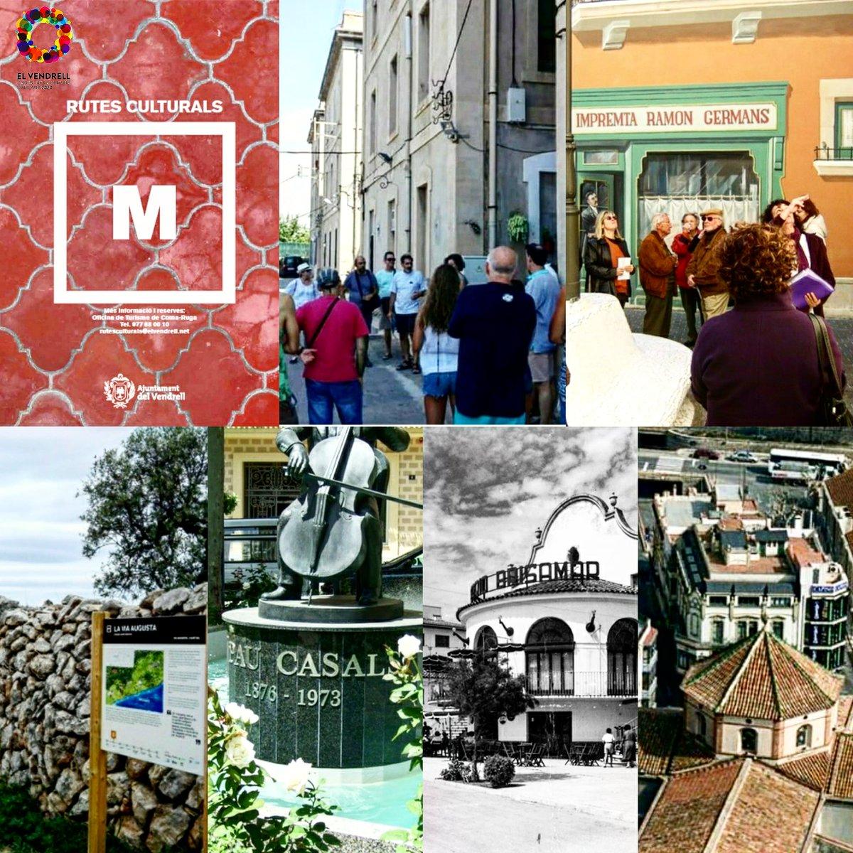 #Sabiesque Dilluns comencen les Rutes Culturals destiu a #elvendrell? #elvendrelltestima + INFO ℹ➡️museusdelvendrell.koobin.com #rutesculturals #costadaurada #catalunyaexperience #FelizSabado @elvendrell_cat @ElVendrell2020 @VendrellMuseus @costadauradatur @catexperience
