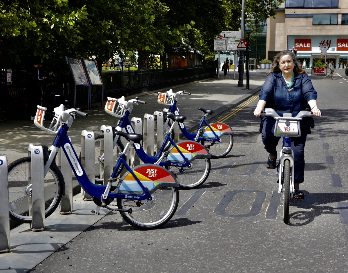 From Monday, youll be able to get a four-month pass for @cyclehire_edi for just £10! Find out more: bit.ly/3iPVa63