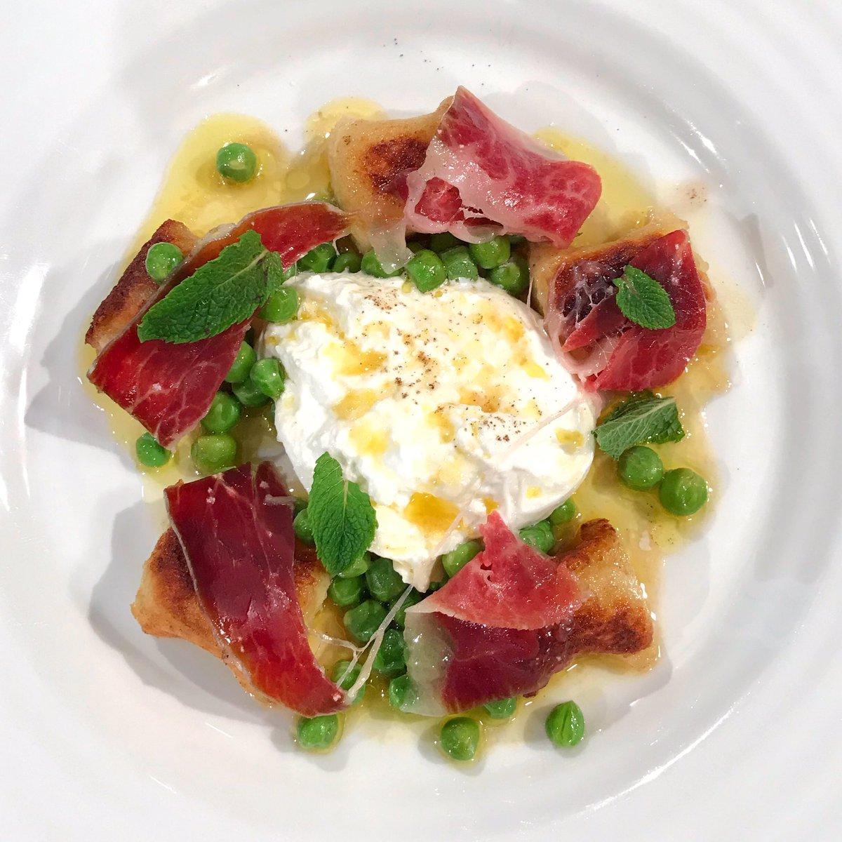 Bryn's potato gnocchi with ham, peas and burrata!   Head this way for the recipe: https://t.co/YtfSbBoPyu  #SaturdayKitchen @Brynwchef @BBCFood https://t.co/2t0BOBrKVd