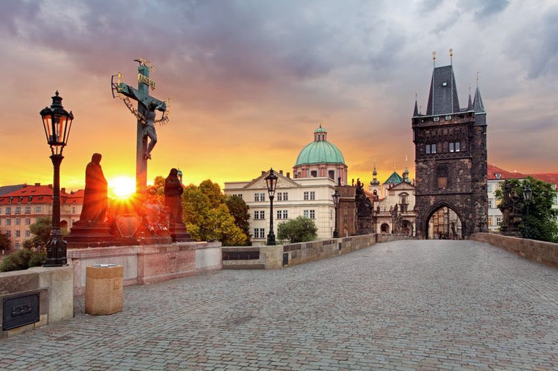 It is 663th anniversary of Charles Bridge which was built on 9th July 1357. The construction continued 45 years.  For more information.  #prague #Charlesbridge #karluvmost #czechia #news #weekend #Anniversary