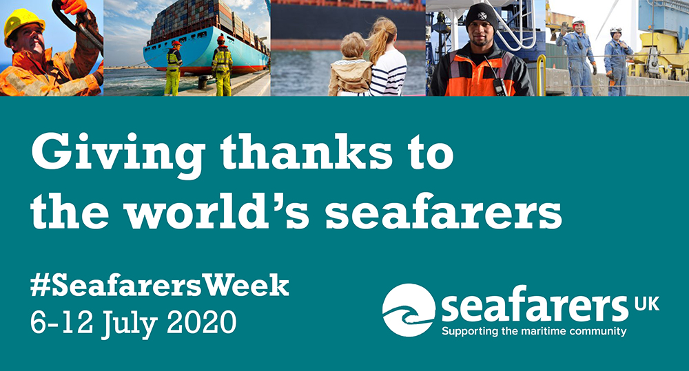 Over 90% of the UK's imports come by ship via sea ports. We are proud to work with suppliers to get products to their destinations - keeping the Freight & logistic industry & the safe & secure movement of goods by sea is essential seafarersweek.uk #SeafarersAreKeyWorkers