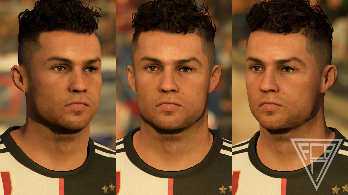 Fcb17 On Twitter Cristiano Ronaldo Juventus Fc V3 Update 9 3 Ovr 9 3 Pot I Ll Be Releasing This Face Later Today So Stay Tuned Ufm Fifa21 Cr7 Https T Co 8fdsylslo3