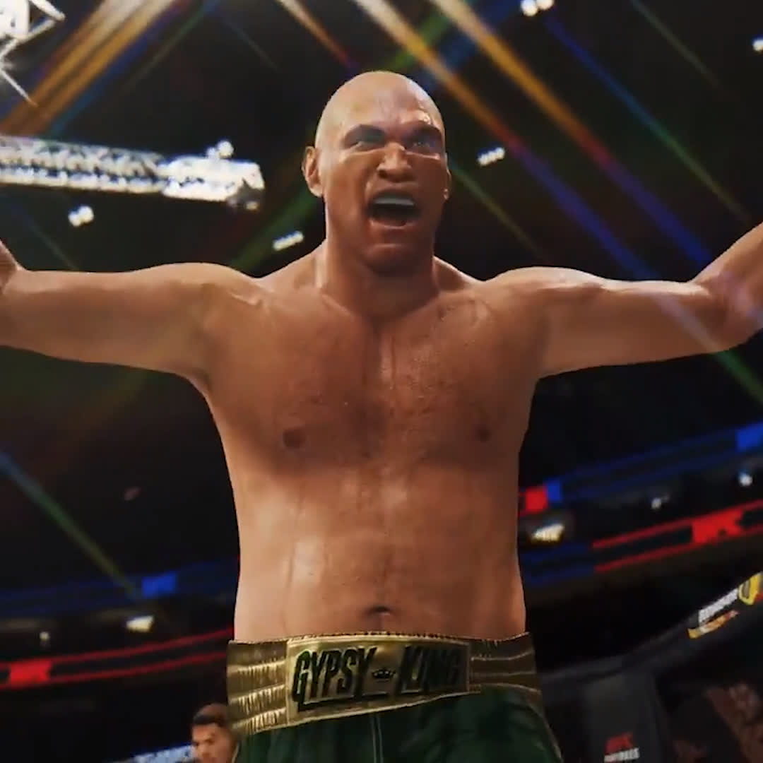 Wow... @Tyson_Fury and @anthonyfjoshua are playable characters in the new EA Sports #UFC4 game 😱