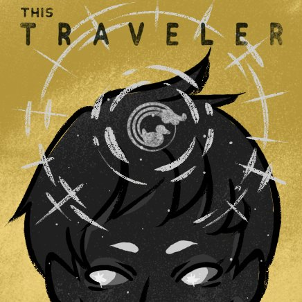 I started an #illustration novel about the meaning of life, and I know my art and writing are not the best but I hope someone likes it anyway. You can find it on #WEBTOON or #tapas #fantsy #uplifting  <This Traveler>   And