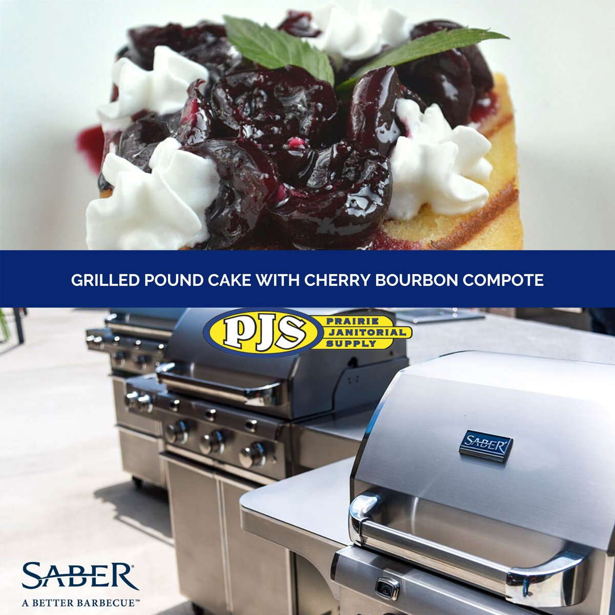 Cake is always a good idea! https://www.sabergrills.com/better-barbecue-blog/grilled-pound-cake-with-cherry-bourbon-compote/… 306-692-4599 https://www.prairiejanitorialsupply.ca #MooseJaw #ShopLocal #SaberGrillspic.twitter.com/h5G571x26S
