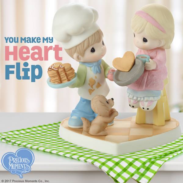 Add a bit of romance to your breakfast table; set the scene with this adorable Precious Moments figurine!   SHOP NOW: http://bit.ly/2tZUXUD  #PreciousMoments #LifesPreciousMoments #Love #YouMakeMyHeartFlippic.twitter.com/NdstggKuYo