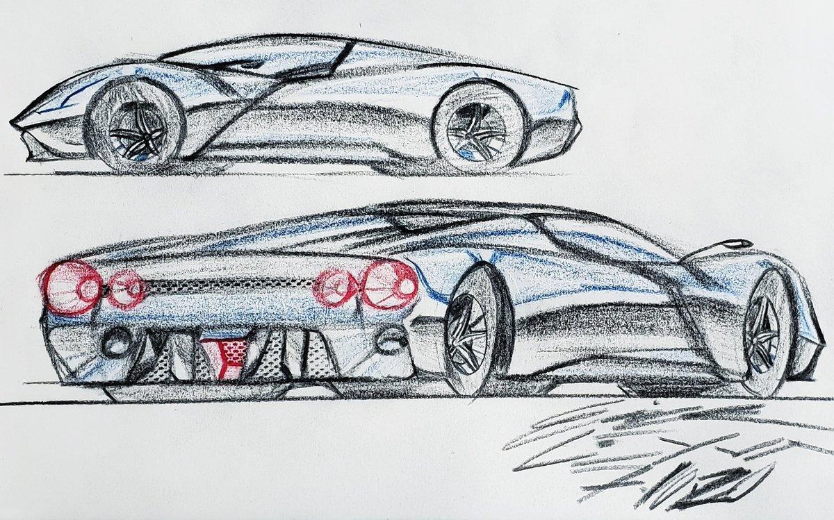 DAY 214 • Yesterday • #sportscar #supercar #hypercar #luxurycars #vehicledesign #productdesign #design #industrialdesign #automotivedesign #dailydesign #dailyart #dailydrawing #dailyillustration #art #cardrawing #automotiveart #concept #conceptart #conceptcar #conceptdesign