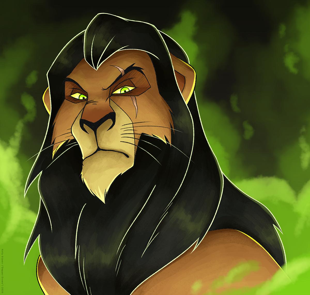 """Be Prepared"" - Scar, the best Disney Villain! (to me, haha) - #disney #lionking #lion #king #thelionking #scar #villain #art #illustration #dapperdraws #simba #mufasa #nala #digital #digitalart #lion #animal #movie #childhood https://t.co/RfhyTb1GD0"