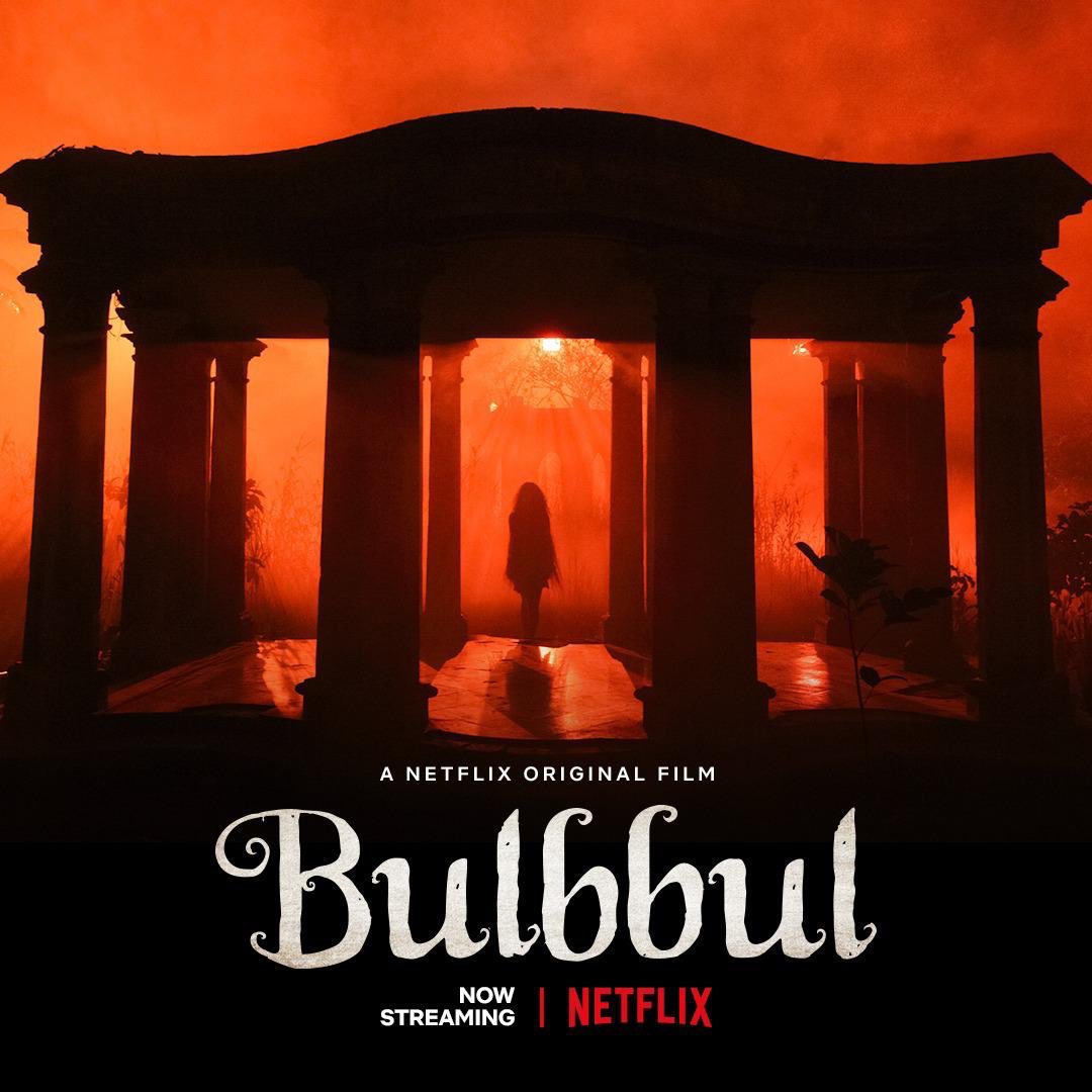 Spent the weekend watching brilliant film #Bulbbul on @NetflixIndia. What a gorgeous film, in every frame! And @tripti_dimri23 what a fabulous find! 😍. Highly recommended! Congratulations @AnushkaSharma #KarneshSsharma 👏👏