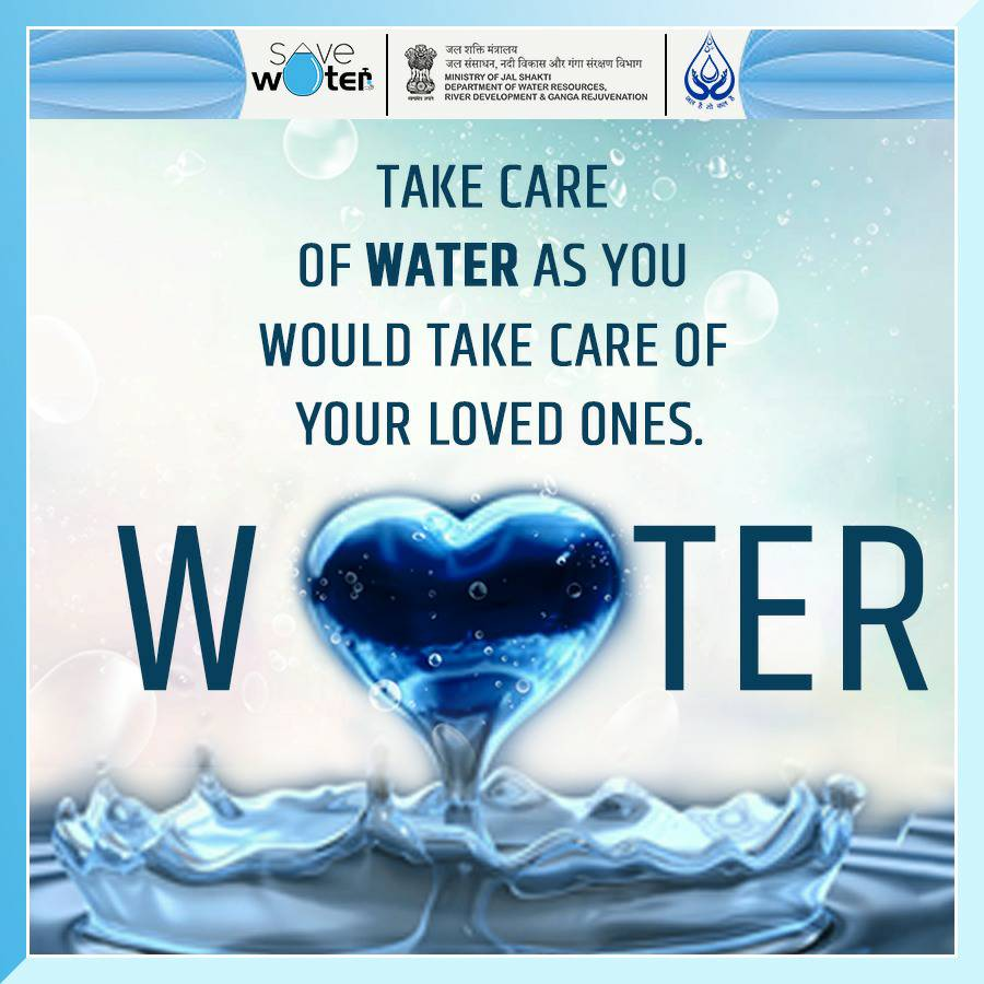 Take care of water as you would take care of your loved ones.   #SaveWater #SaveLife #SaveFuture https://t.co/rG7wjFGYxH