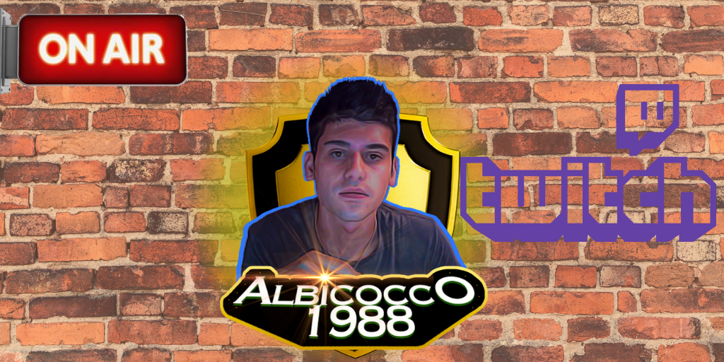 Live ora da twitch  #live #twitch #twitchitalia #gaming #onair #streaming #channel #albicocco1988 #game #ps4pic.twitter.com/j6ezlc1p3i