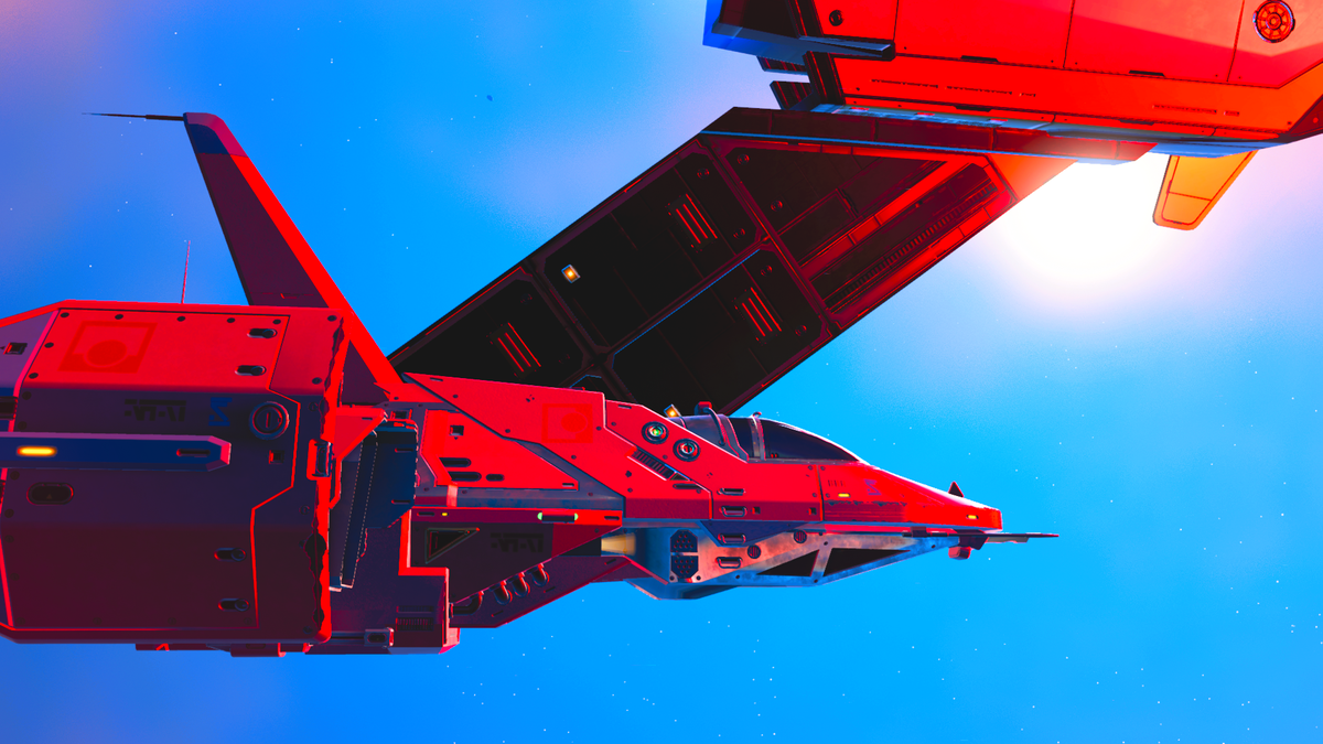 A distress signal from my own fleet, which currently has nine S class combat frigates with thirty or so fighters each...but couldn't fight off ten pirates...#NMS #NoMansSky #VGPUnite #GamerGram #TheCapturedCollective #ArtisticofSociety pic.twitter.com/h9g3OLEZtj