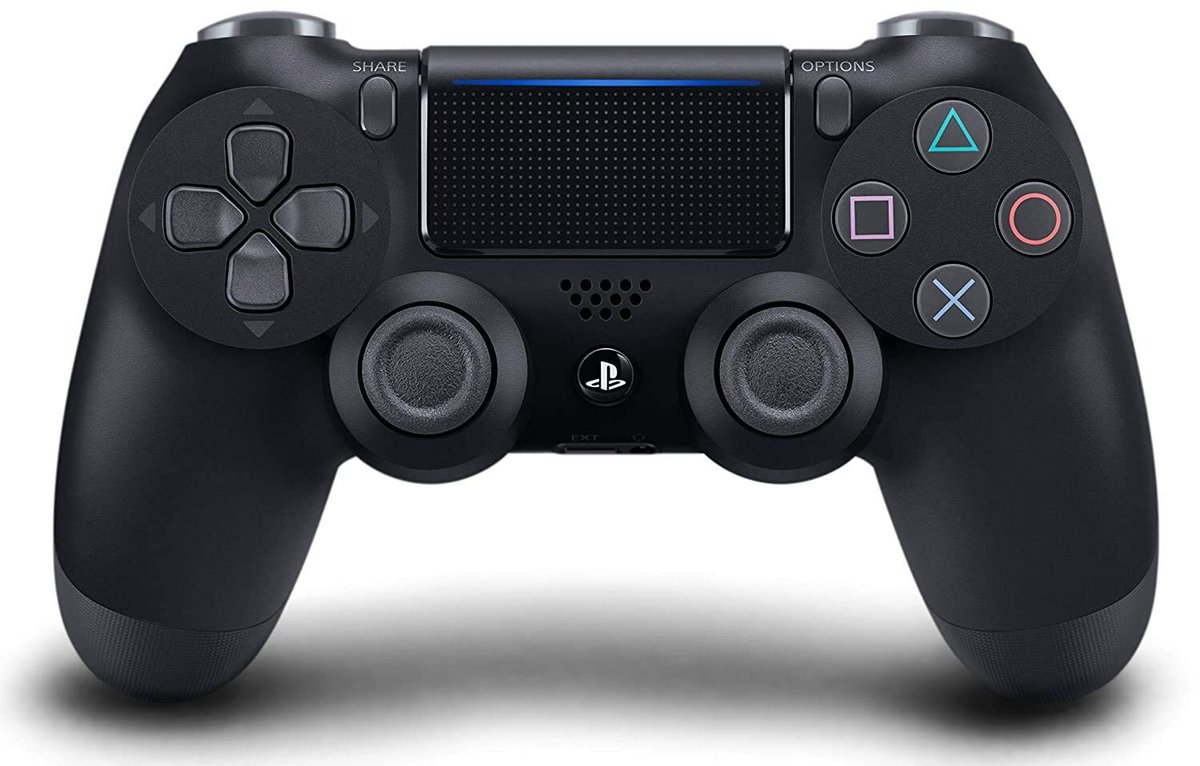 DualShock 4 Wireless Controller for PlayStation 4 from @PlentyGadgets for N30,000  Precision Control Refined Analog Sticks Share button Greater sense of control, no matter what you play Clickable touch pad Built in speaker & stereo headset jack  To order Whatsapp 08138068586  -pic.twitter.com/HnR8uHDrXc