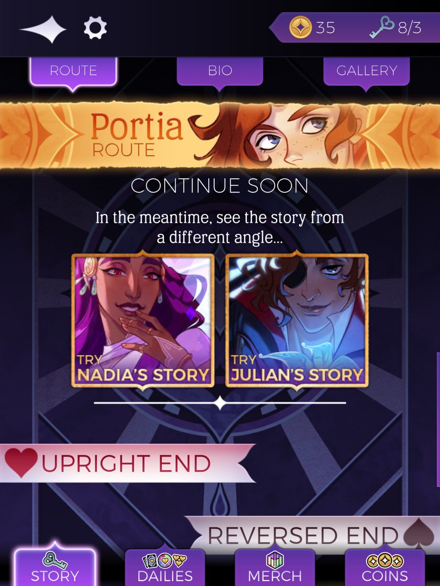 You Ilya and Nadia's pictures kinda match up in this  #thearcana pic.twitter.com/VbpLMczDOT