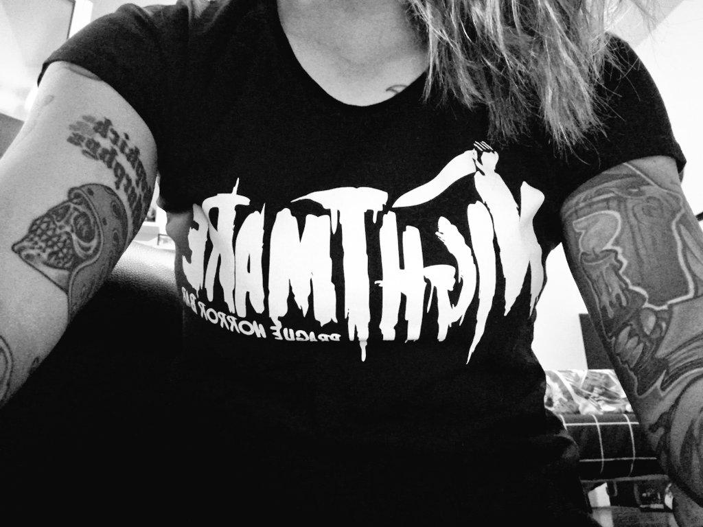One of my favourite t-shirts... 🖤🔪 #nightmare #prague #horror #bar  #Lovecraft #bobberbrothers #dropkickmurphys #tattoos