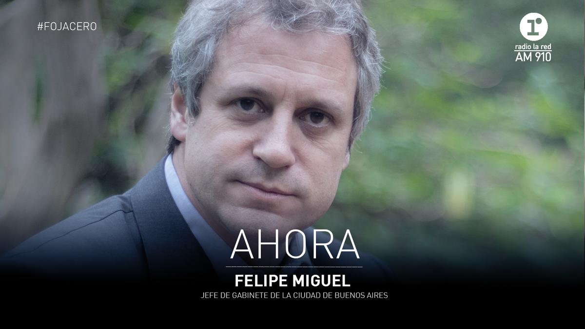 """🎙️ #Entrevista / @FelipeMiguelBA en #FojaCero: """"Puede ser que en algún momento del proceso de apertura tengamos que dar un paso atrás"""".  @facupastor @vporce @radiolared https://t.co/dOja2VQZGp"""