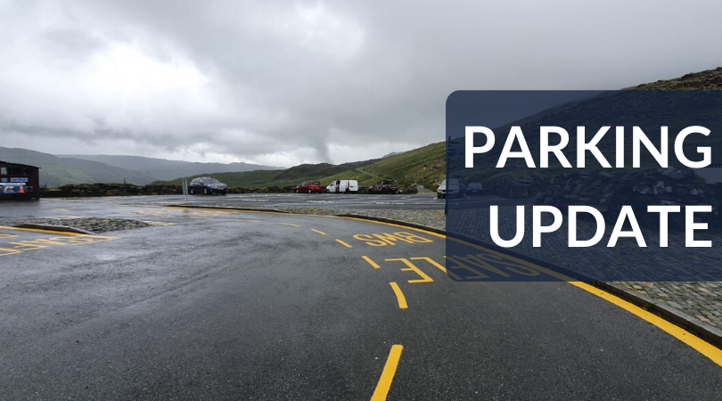 Ogwen and Pen y Pass car parks are currently full. For up to date car parking information in the National Park, see the following link: http://www.snowdonia.gov.wales/authority/coronavirus/car-park-vacancies … #BeSafe #TreadLightly #BeKind pic.twitter.com/kRcMEl3QDL