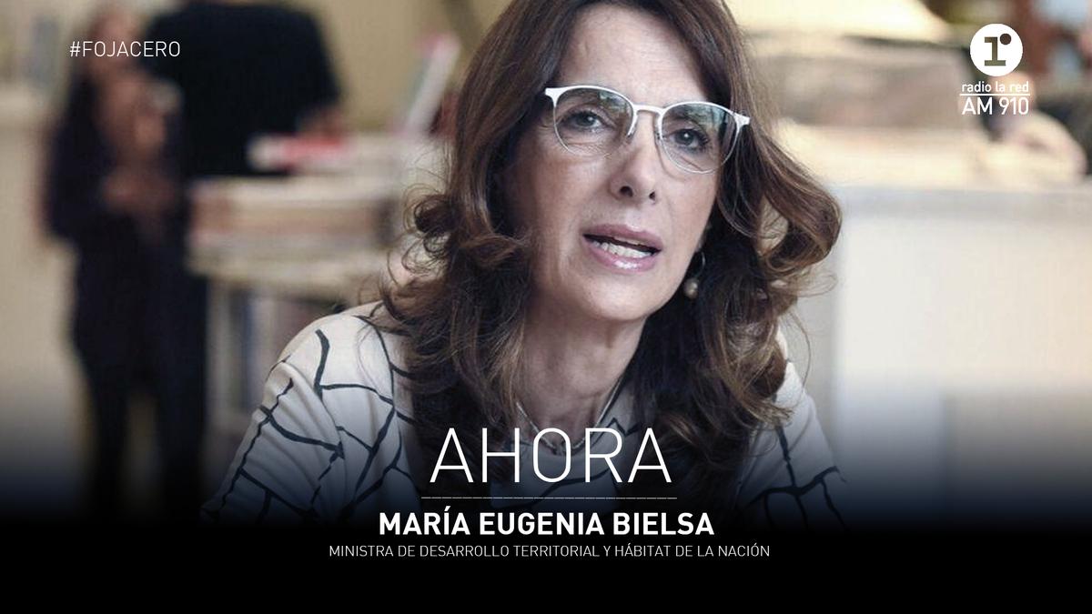 🎙️ #Entrevista / Habla con @facupastor en #FojaCero la ministra de Desarrollo Territorial y Hábitat de la Nación, María Eugenia Bielsa (@MariaEBielsaOk).  📻 Escuchanos en https://t.co/T9e1Rmt4Dz  @vporce @radiolared https://t.co/tM0v7quMGL