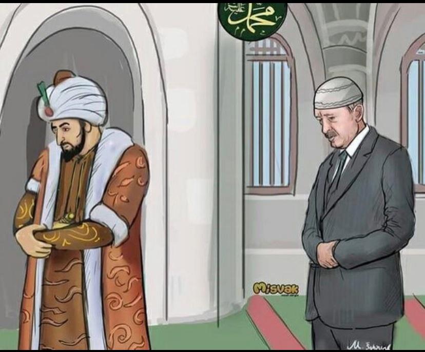 هل هناك شك في استخدام أردوغان للدين من أجل استعادة اراضي الامبراطورية العثمانية؟ الروس لا يفهمون ذلك. #Эрдоган  #Турция  #اردوغان  Есть ли сомнения в том, что Эрдоган использовал религию для восстановления земель Османской  империи? Россия  это не понимают. pic.twitter.com/lLesJ6QI74