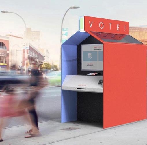"👁➡️ @PrattInstitute #industrialdesign students   mt @IDSA  📸 voting booth for the #COVID era - griffin uhlir (BID 2020), wobbling bowls - mengjung lin (MID 2020), ""pause"" pillows - deniz aysay (BID 2020), ""handd pen"" - julia liverton (BID 2020)"