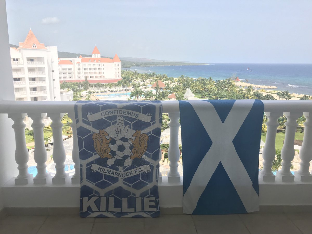 A year ago today. Supporting Killie from afar #SuperKillieAway #Jamaica pic.twitter.com/HJPcBEmKrl