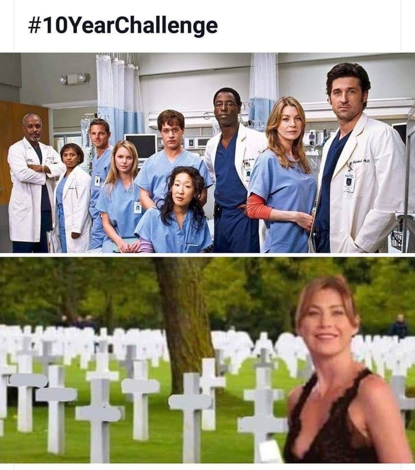 I'm dying 😂😂😂😂😂 #10yearchallenge #GreysAnatomy https://t.co/jfL3oxWfZ5