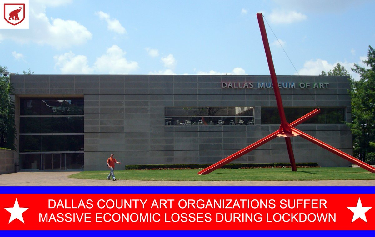 804 artistic performances cancelled, 2609 classes deterred, and 747 days of art gallery revenue lost. Teachers, artists, and the entire preforming arts community needs @JudgeClayJ to loosen his grip on Dallas County so they can get back to work.