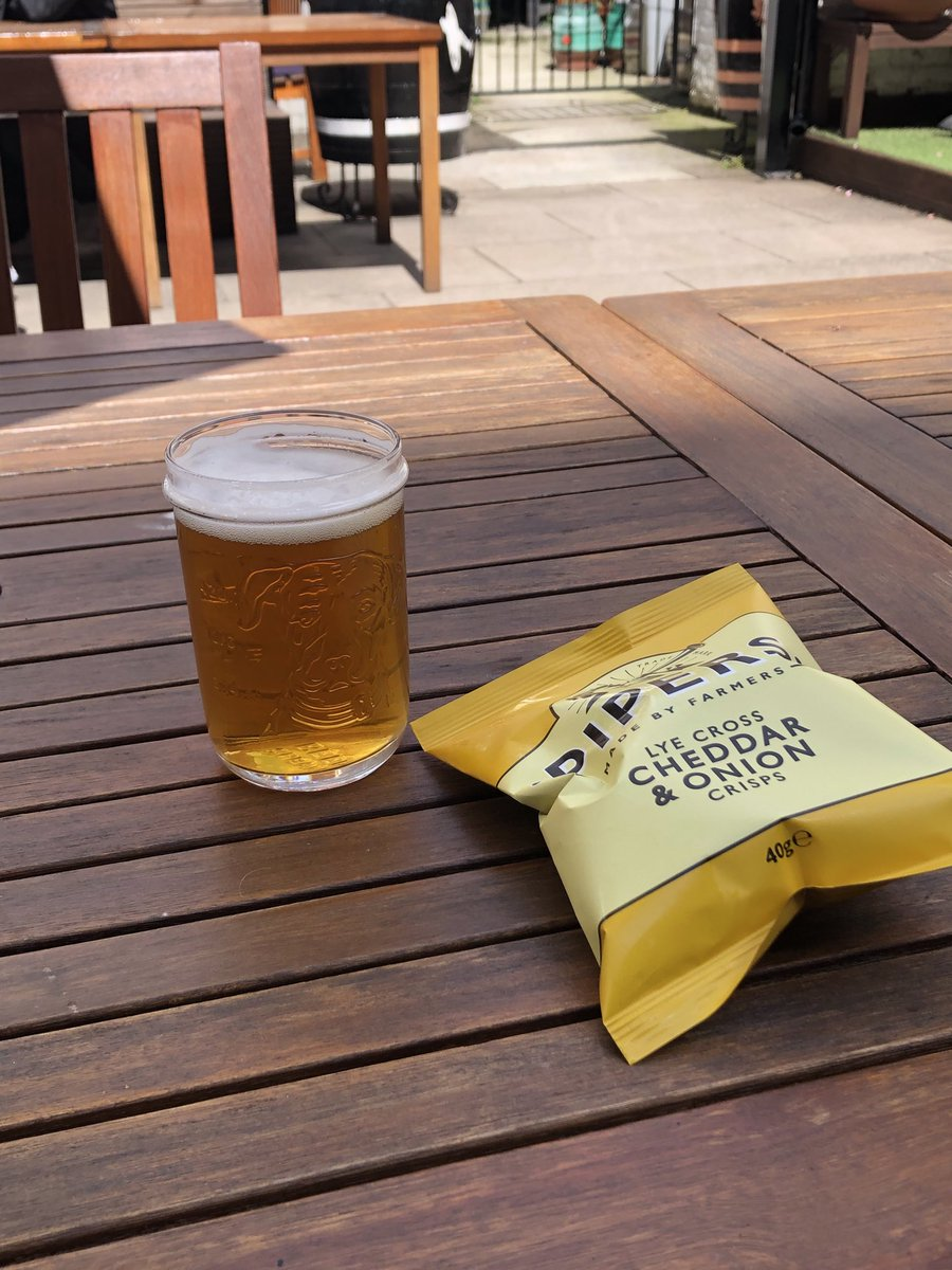 At @BPManchester  Hoping to bump into @thelrm before the year's out. Today I have @JonathSchofield for company. And beer. In a garden.