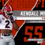 Image for the Tweet beginning: 🆕Devy Profile: Kendall Milton, RB|