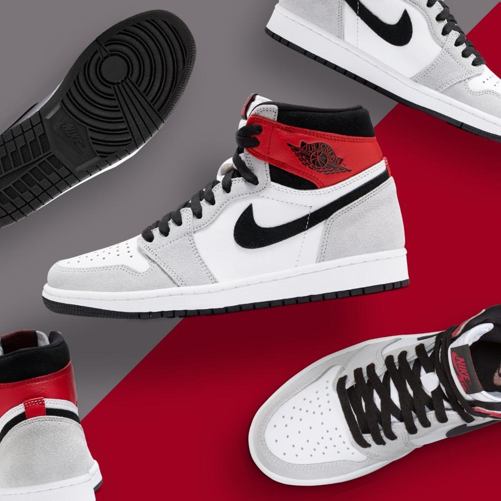 Air #Jordan Retro 1 High OG 'Smoke Grey