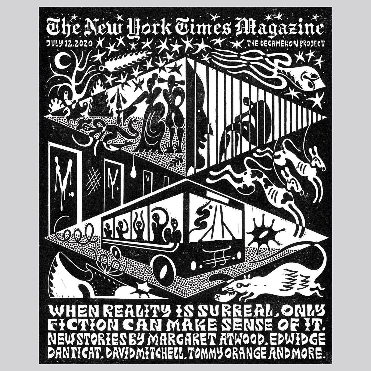 In Print This Weekend: 29 authors. 29 short stories. Read @NYTmag's The Decameron Project, an entire issue of new, original fiction. https://t.co/ReupXxWUTa https://t.co/pqfH5CTy75