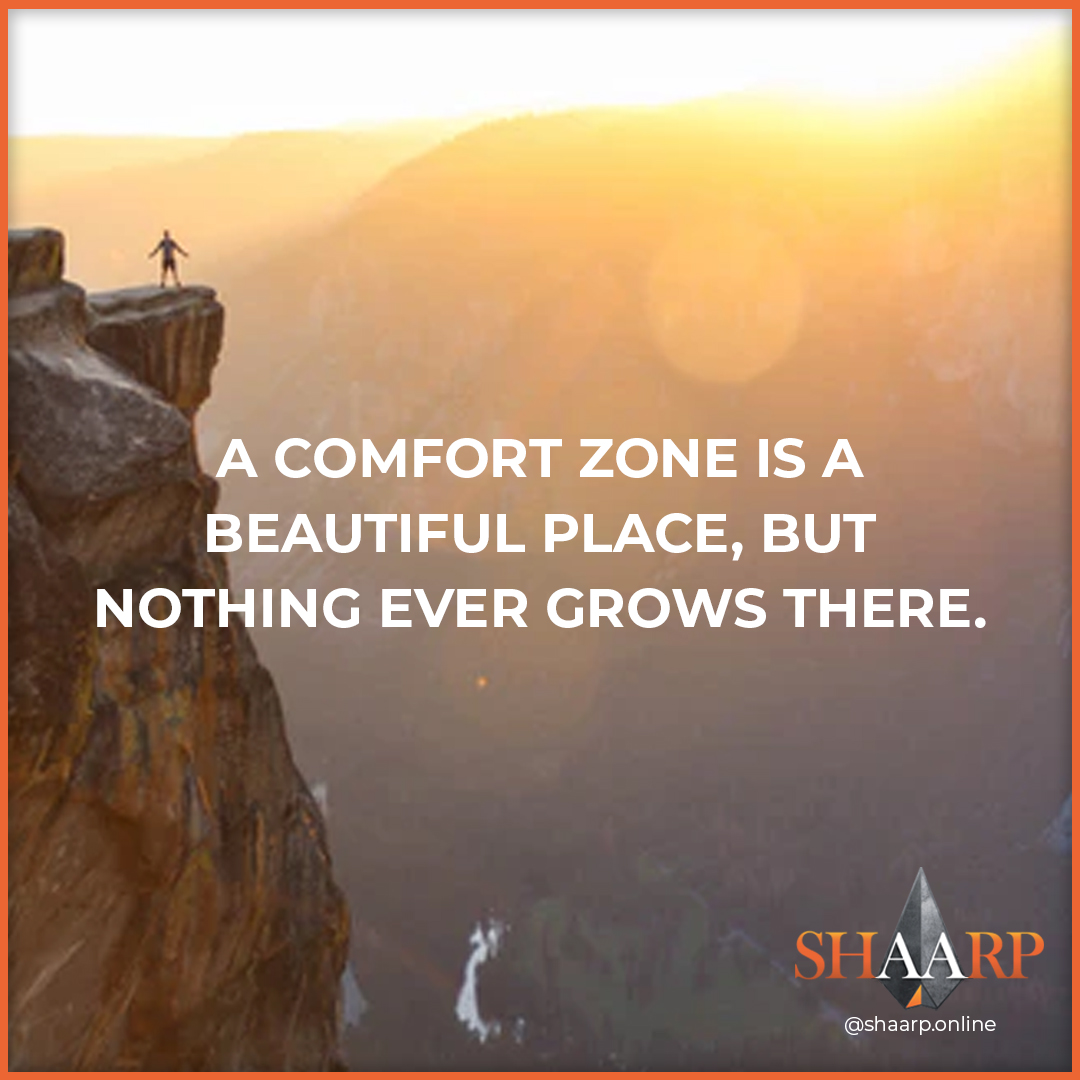 A comfort zone is a beautiful place, but nothing ever grows there. #shaarpshareconnectevolve #shaarp #shaarponline #share #connect #evolve #mind #body #soul #self #bodymindsoulself #aduarte7 #adlegacy #lifecoaching #coach #keytosuccess #businesslife #entrepreneurmotivationpic.twitter.com/3RGNUpP3A1