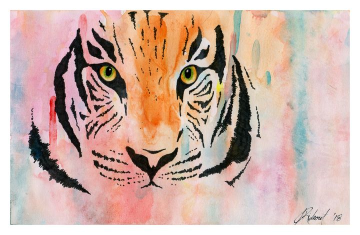 "Featured Art of the Day: ""Watercolour Tiger 2018"". Buy it at: https://www.ArtPal.com/jennarideout?i=126189-4 …pic.twitter.com/nxBmrWk6j1"